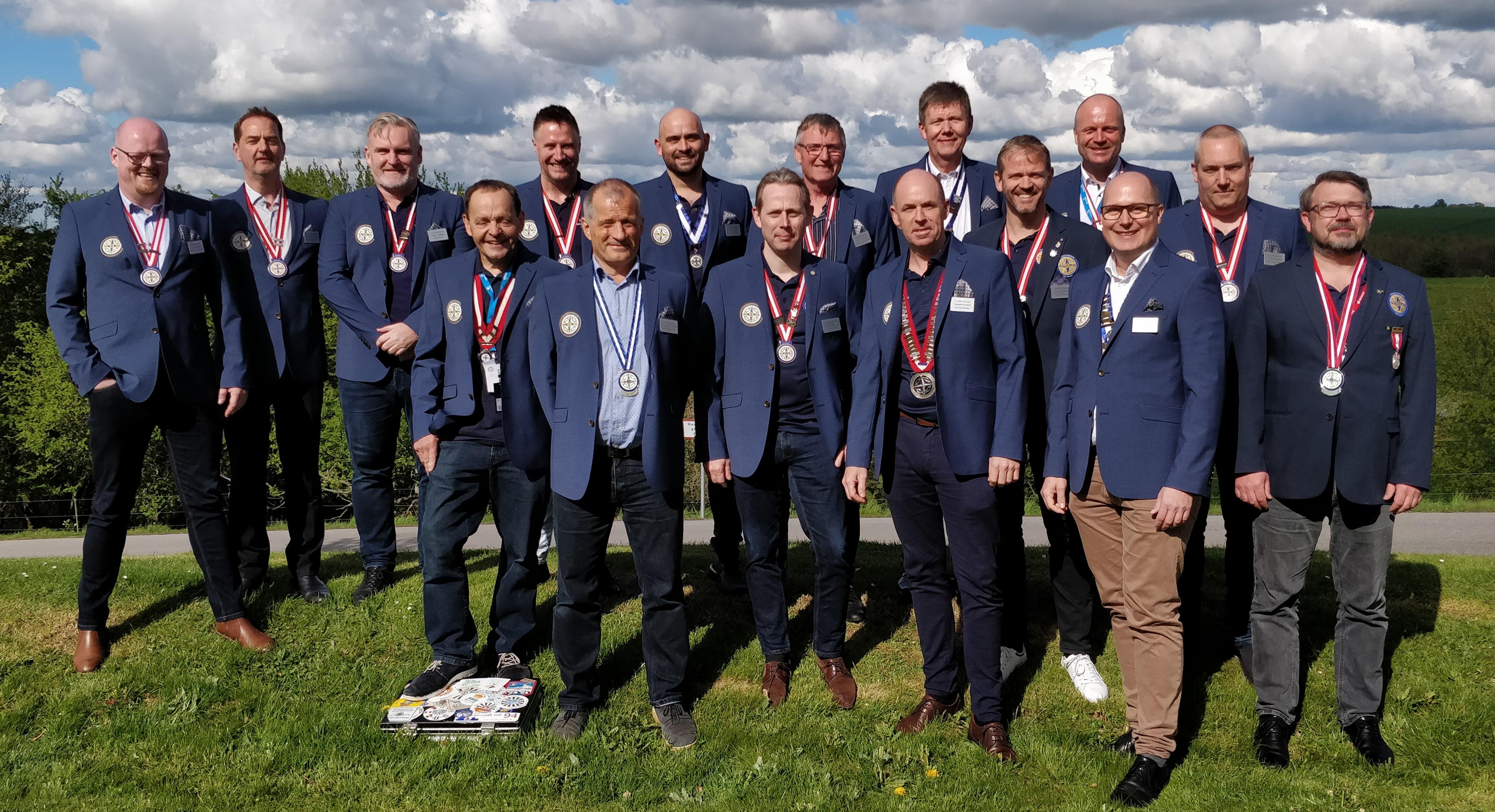 Den nye landsledelse valgt på Landsrådet den 4. maj 2019
